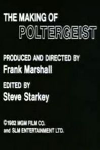 The Making Of 'poltergeist'
