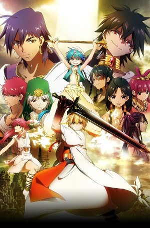 Magi: The Labyrinth Of Magic (dub)