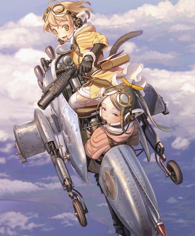 Last Exile: Fam, The Silver Wing (dub)