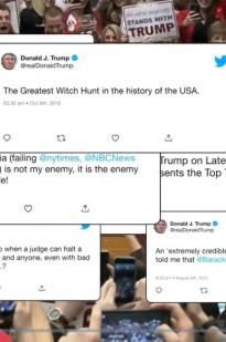 President Trump: Tweets From The White House
