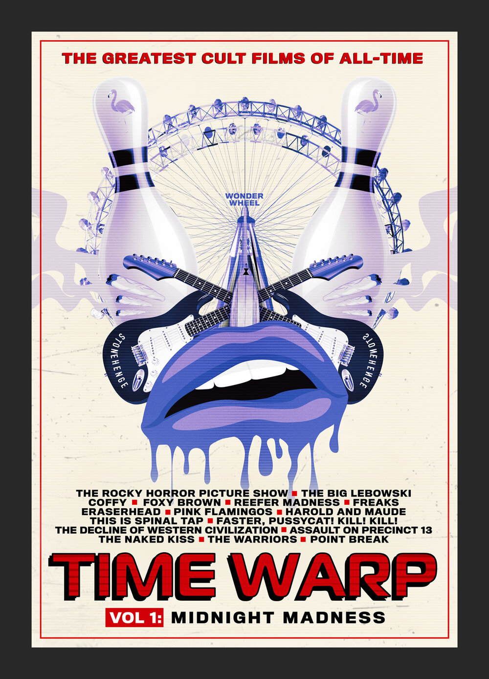 Time Warp: The Greatest Cult Films Of All-time- Vol. 3 Comedy And Camp
